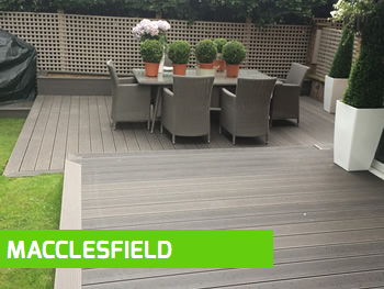 Decking installation Macclesfield