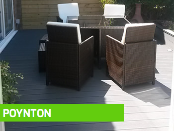 Decking installation Poynton