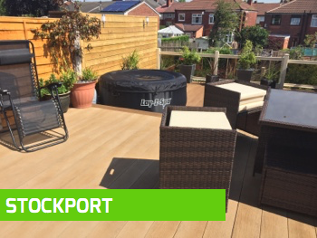 Decking installation Stockport