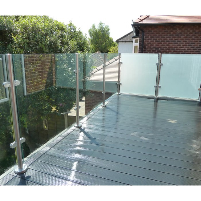 Toughened Gl Frosted Panel World Of Decking