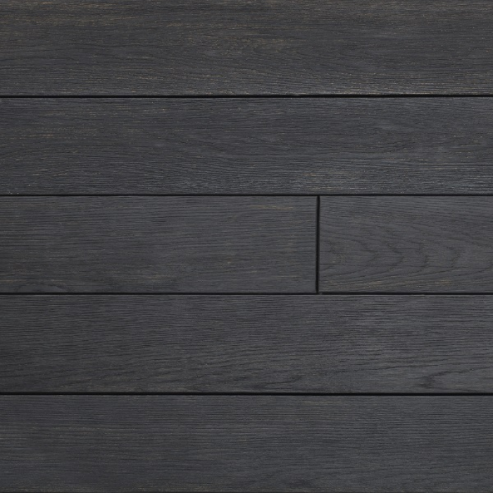 Millboard carbonised charred deck boards world of decking for Balcony decking boards