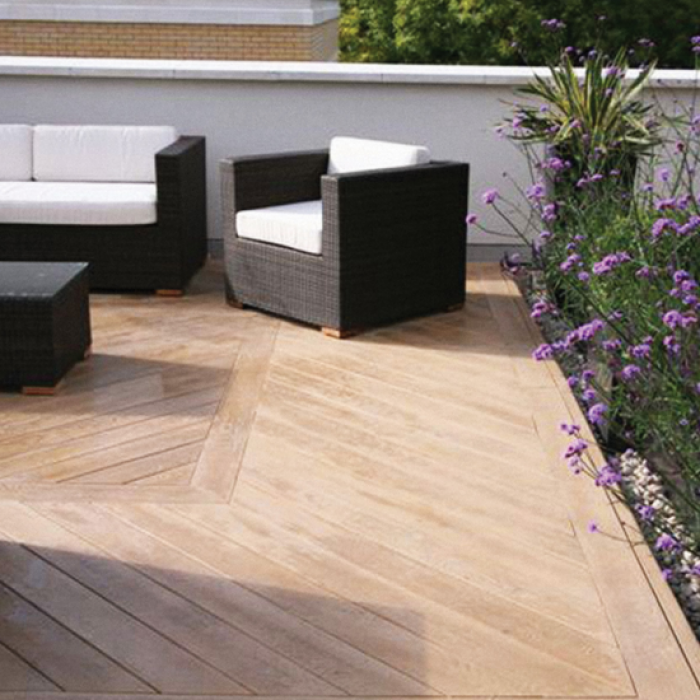 Millboard Enhanced Grain Golden Oak Deck Boards World Of