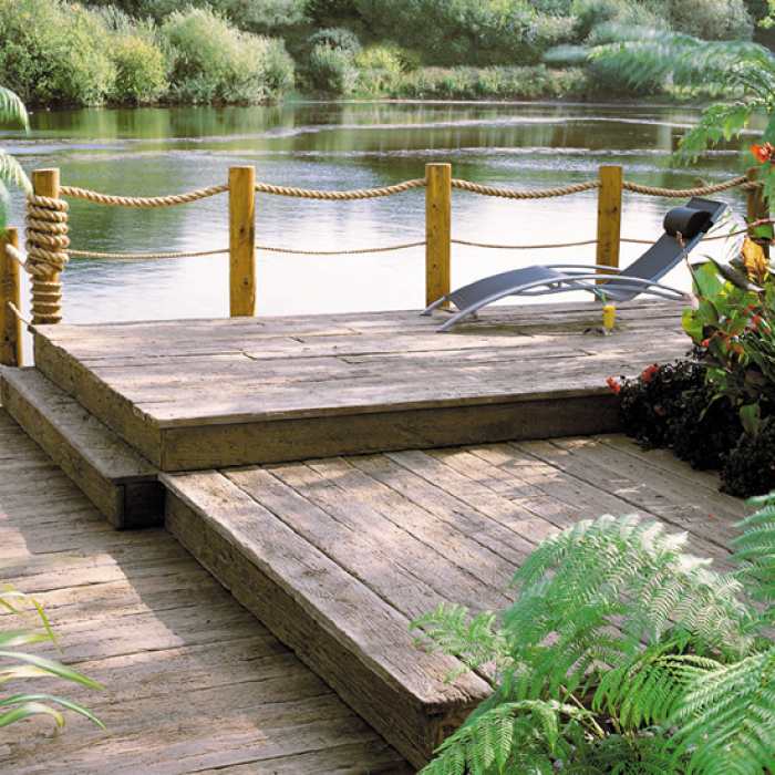 Millboard weathered vintage deck boards world of decking for Longest decking boards