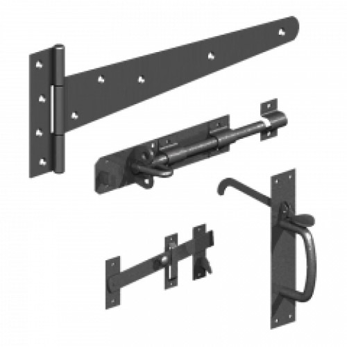Side gate kits with Suffolk latch
