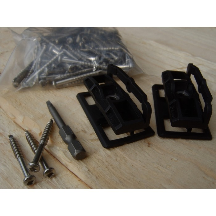 Composite Fixing Clip Amp Screw World Of Decking