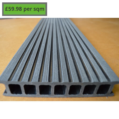 Composite Decking Charcoal Grey
