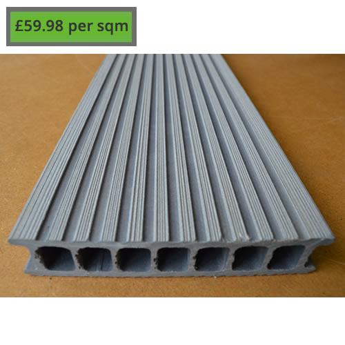 Composite Decking Riverstone Grey