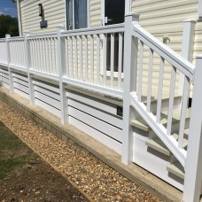 uPVC Step Handrails