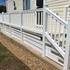 uPVC Step Handrails