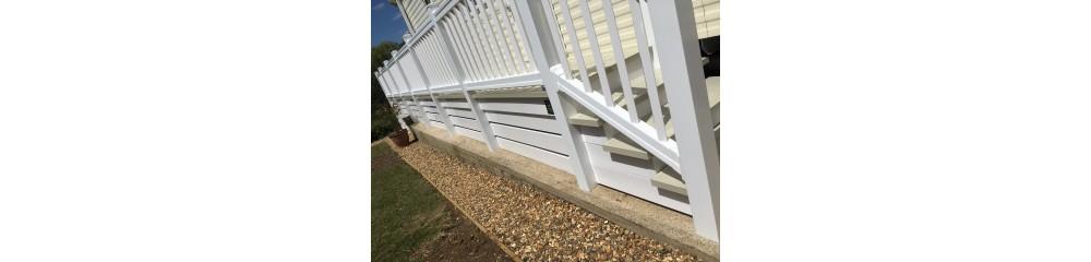 uPVC Sculptured Handrails