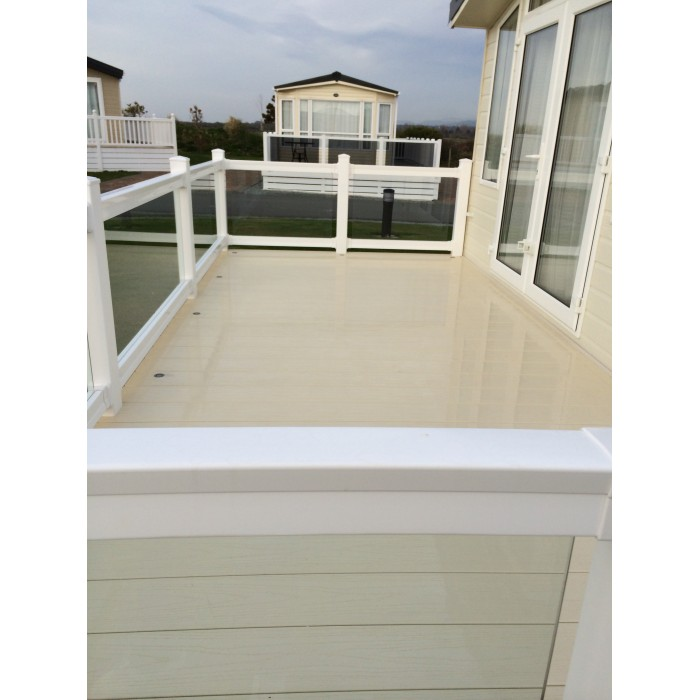 Upvc Eco Deck Board Cream World Of Decking