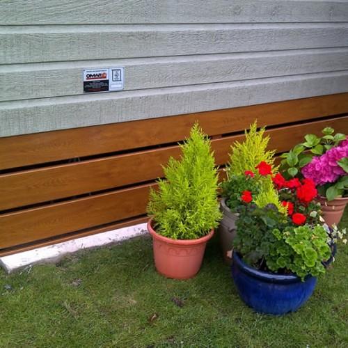 uPVC Foiled Skirting Plank