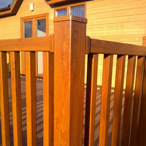 uPVC Foiled Spindles