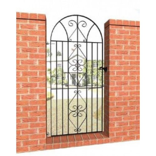 Windsor Bow Top Metal Gate