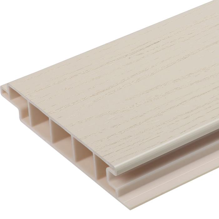Upvc Eco Deck Board Cream World Of Decking